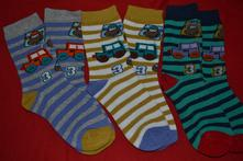 Sada 3páry ponožky s autem, 24 - 31