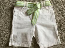 Bíle riflové šortky kraťasy, george,86