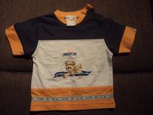 Tričko s medvídkem, krátký rukáv, 68