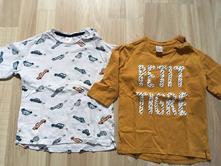 2 trička od hmka, h&m,92