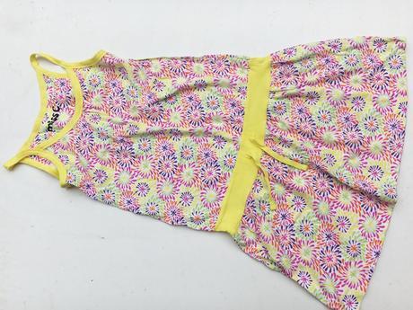 Dívčí letní šaty č.742, cherokee,158