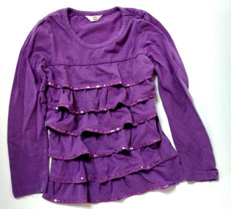 P10 - kanýrkové fialové tričko, 110