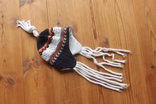 Pletená zimní čepice, 86