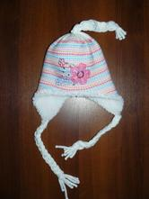 Zimní čepice s copánky, 104