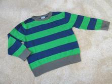 Zeleno-modrý svetr, f&f,98