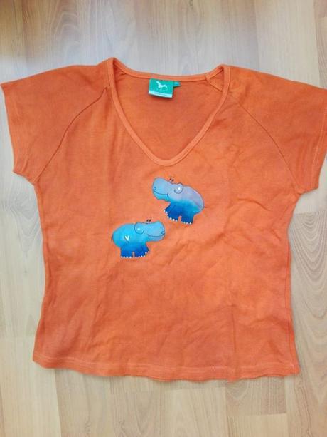 Oranžové triko, xl