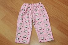 Pyžámkové kalhoty hello kitty, růžové vel. 92, 92