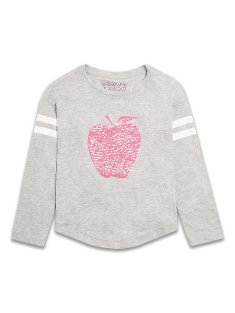 Tričko flitrové jablíčko, 98 - 128