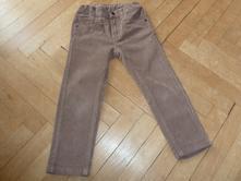 Chlapecké hnědé manšestrové kalhoty vel.98, lupilu,98