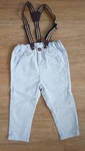 Kalhoty s kšandami + košile vel 86, pepco,86