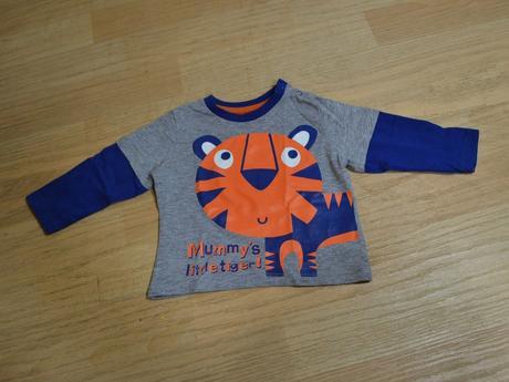 Tričko s dl. tygr, tu,62