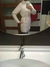 Prošívaný kabát top stav, esmara,36