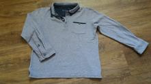 Teplejší triko s límečkem, matalan,134