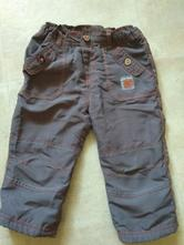 Parádní zateplené kalhoty, kik,80