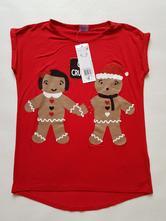 Červené tričko, f&f,128
