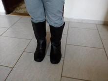 Černé boty vel.36 , 36