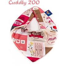Dětský šátek cuddly zoo, 2 barvy, 92