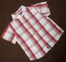 Košile s krátkým rukávem, h&m,92