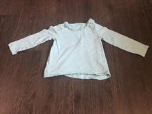 Zelené triko s dlouhým rukávem, f&f,86