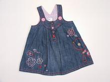 P442 riflové šaty vel. 74, next,74