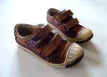 Kožené volnočasové boty botasky vel. 29, 29