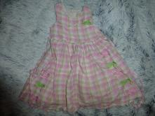 Kárované šaty, children's place,98
