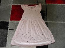 Bavlněné šaty zn.h & m vel.98/104, h&m,98