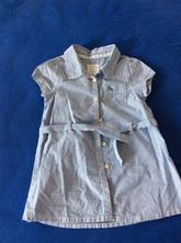 Pruhované letní šatečky, h&m,80