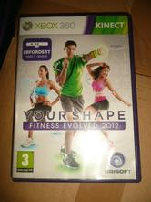 Hra xbox 360 kinect fitness your shape,