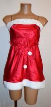 Kostým šaty paní santová, secret, vel. s., s