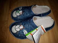 Teplé pantofle, crocs,36