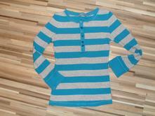 Pruhované tričko, lindex,128
