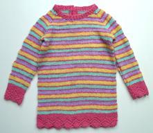 Dlouhý svetr  svetřík vel. 104, 104