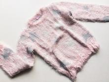 Dívčí chlupatý svetr č.459, dopodopo,122