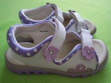Celokožené sandálky, baťa,28