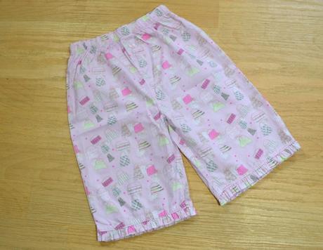 Pyžamové kalhoty letní růžové, 110
