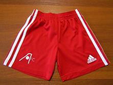 Jasně červené kratasy adidas vel 92-98 cm , adidas,92