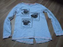 Překrásné triko s flitry psi 11-12, f&f,152