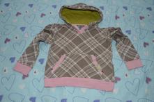 Bavlněná mikina mikinka s kapsou, kenvelo,116