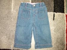 Riflové kalhoty pro holčičku vel.80, 80
