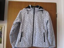 Velmi pěkná oteplená softshellová bunda, m