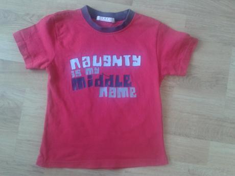 Sytě červené tričko george, george,104