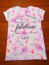 Krásné dívčí triko next vel 158-164, next,158