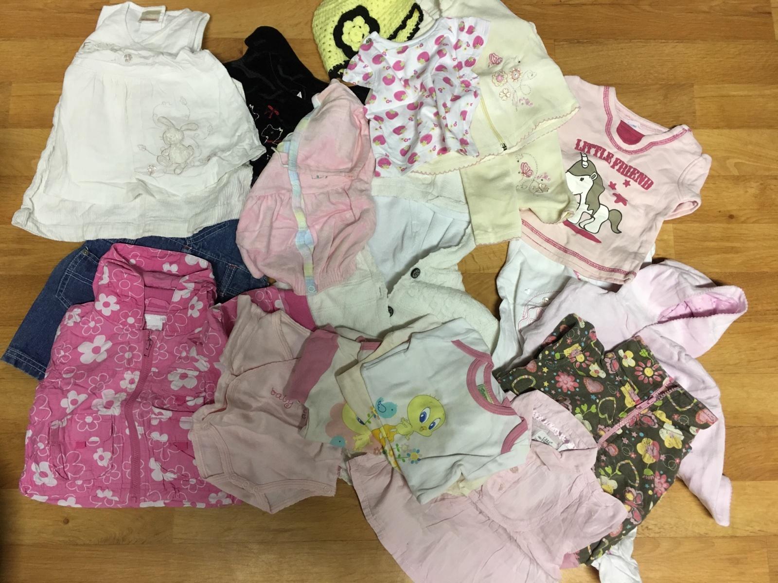 Balík oblečení pro holčičku 0-4 měsíce 75536d8d03