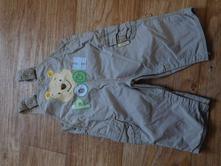 Laclové kalhoty pú 3-6 měs, 68