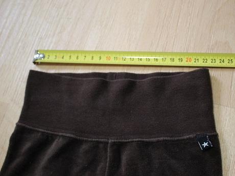 Kalhoty velurové hnědé lindex , lindex,80