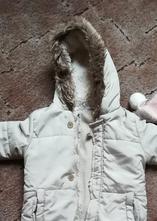 Elegantní béžová zimní kombinéza, f&f,80
