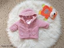 6-9m george zimní kabátek /kabát pro holčičku, george,74