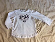 Srdíčkové tričko, h&m,92