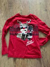 Chlapecké vánoční tričko vel.122/128, 128